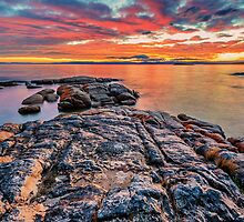 Coles Bay Sunset by Jan Fijolek
