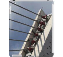pylon cable-stayed bridge iPad Case/Skin