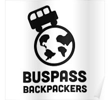 Buspass Backpackers Poster