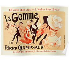 Reproduction Vintage French Poster Poster
