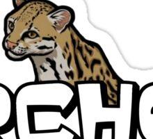 """Archer - Babou """"Fox eared asshole"""" Sticker"""