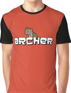"Archer - Babou ""Fox eared asshole"" Graphic T-Shirt"