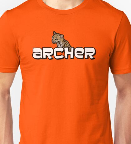 "Archer - Babou ""Fox eared asshole"" Unisex T-Shirt"