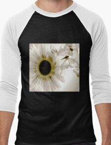 transparence flower in  grey Men's Baseball ¾ T-Shirt