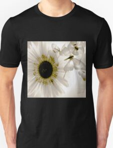 transparence flower in  grey Unisex T-Shirt