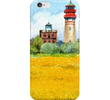 Ostsee Leuchtturm Cap Ascona, Rügen iPhone Case/Skin