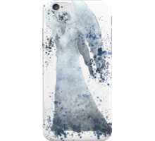 Weeping Angel Doctor Who Watercolour Painting iPhone Case/Skin