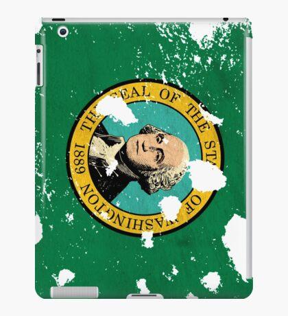 Washington Splatter iPad Case/Skin