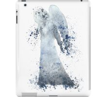 Weeping Angel Doctor Who Watercolour Painting iPad Case/Skin