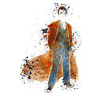 Doctor Who Tenth Doctor David Tennant Photographic Print