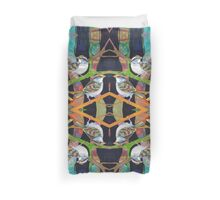 White-throated sparrows Duvet Cover