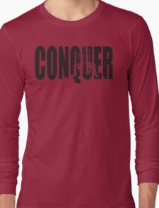 CONQUER (Goku Iconic) Long Sleeve T-Shirt