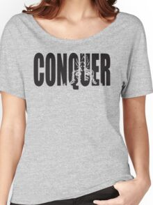 CONQUER (Goku Iconic) Women's Relaxed Fit T-Shirt