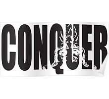 CONQUER (Goku Iconic) Poster