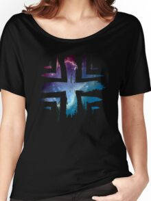 Plus Symbol - Universe Edition Women's Relaxed Fit T-Shirt