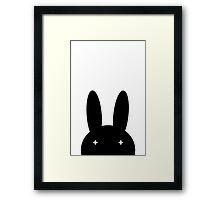 Peek A Boo Bunny Framed Print