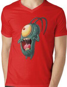 plankton Mens V-Neck T-Shirt
