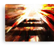 Blood Mirror Canvas Print