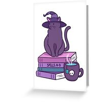 Feline Familiar Greeting Card