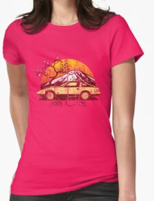 Weathered Beauty Z31 Womens Fitted T-Shirt