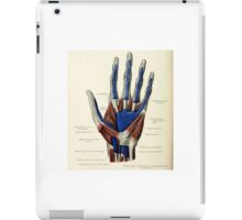 Historical anatomy chart iPad Case/Skin