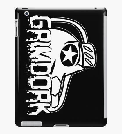 Grimdork on the side iPad Case/Skin