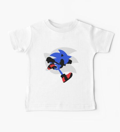 Sonic Silhouette Baby Tee