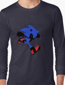 Sonic Silhouette Long Sleeve T-Shirt