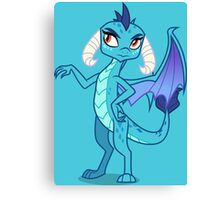 PRINCESS EMBER Canvas Print