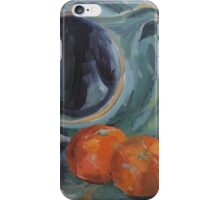 Red Onion, Jug and Clementines iPhone Case/Skin