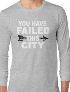 You Have Failed This City - The Green Arrow T-Shirt