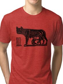 Romulus and Remus Tri-blend T-Shirt