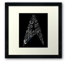 Live Long & Prosper - Star Trek Classic Doodles Framed Print