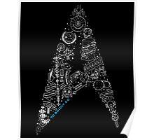Live Long & Prosper - Star Trek Classic Doodles Poster