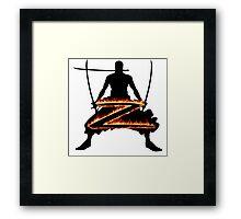 Z for Zoro Framed Print