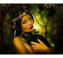 Forest Elf Photographic Print