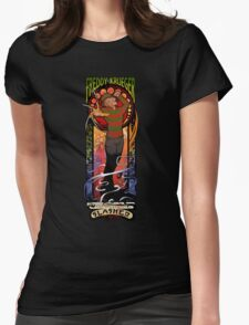 The Springwood Slasher Womens Fitted T-Shirt