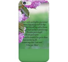 Mothers Day - I love you iPhone Case/Skin