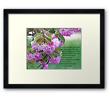 Mothers Day - I love you Framed Print
