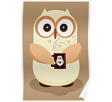 OWL AND CUPPA Poster