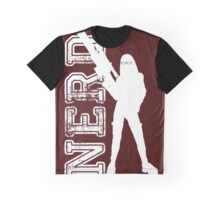 Nerd with a gun Graphic T-Shirt