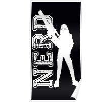 Nerd with a gun Poster