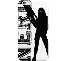Nerd woman iPhone Case/Skin