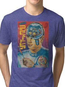 60s japanese retro art Tri-blend T-Shirt