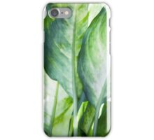 tropic abstract  iPhone Case/Skin