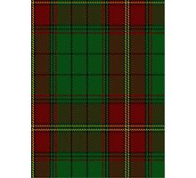 00185 Ulster (Red) District Tartan  Photographic Print