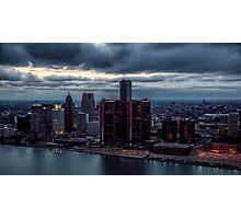 Detroit Gotham Photographic Print