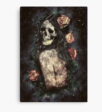 Morbid Beauty Canvas Print