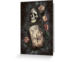 Morbid Beauty Greeting Card
