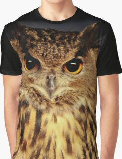 Owl Graphic T-Shirt